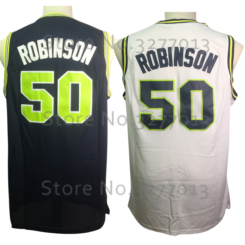detailed look 32e41 45cbb 2018 Throwback Basketball Jerseys Naval Academy NAVY USNA College Mesh  Jerseys 50 David Robinson Jersey Stitched Shirts For Mens-in Basketball  Jerseys ...