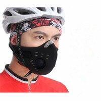 Wosawe anti-vervuiling stad fietsen masker mond-moffel stofmasker fiets sport bescherm road fietsen masker cover beschermende