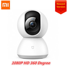 Xiaomi Mijia Mi 2018 Newest Smart Cam Cradle Head Version 1080P HD 360 Degree Night Vision Webcam IP Camcorder WIFI App Control(China)
