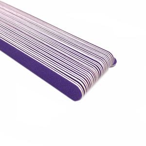 Image 4 - New Double Head Wooden Nail Files 200 pcs/lot Purple Wood Sandpaper Polisher Machine Lixas De Unha Vijlen Nails Files Tools Kit