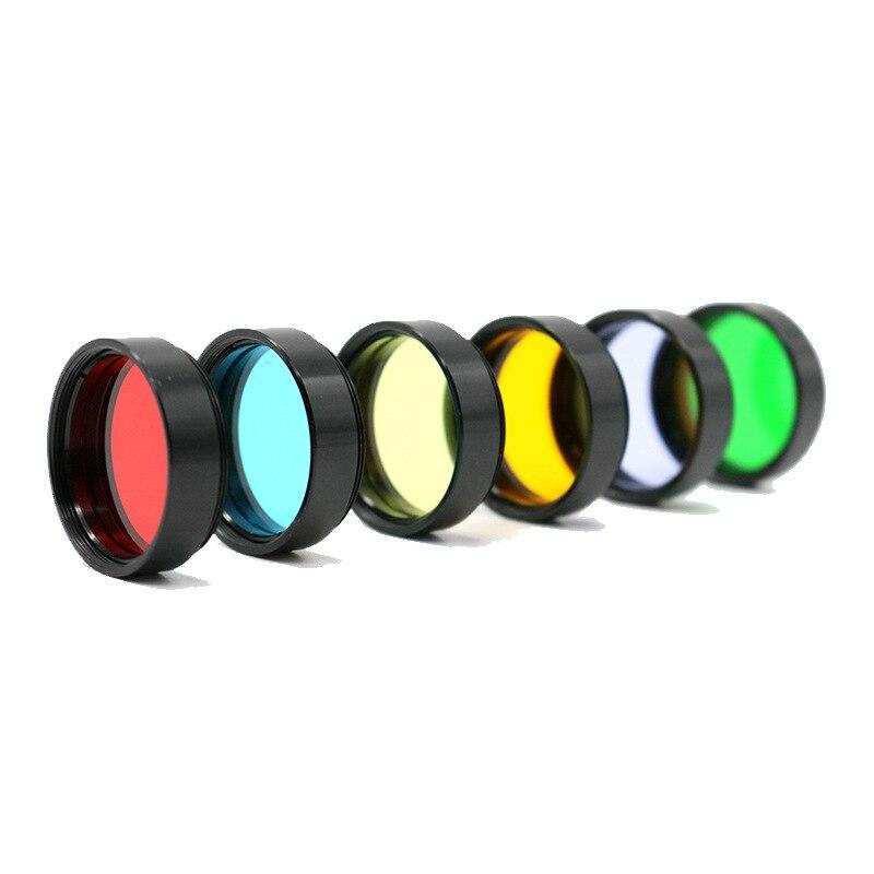 1,25 pulgadas M28 * 0,6mm filtro Ocular telescopios astronómicos accesorios lente Ocular planetas y nebulosa filtro luna