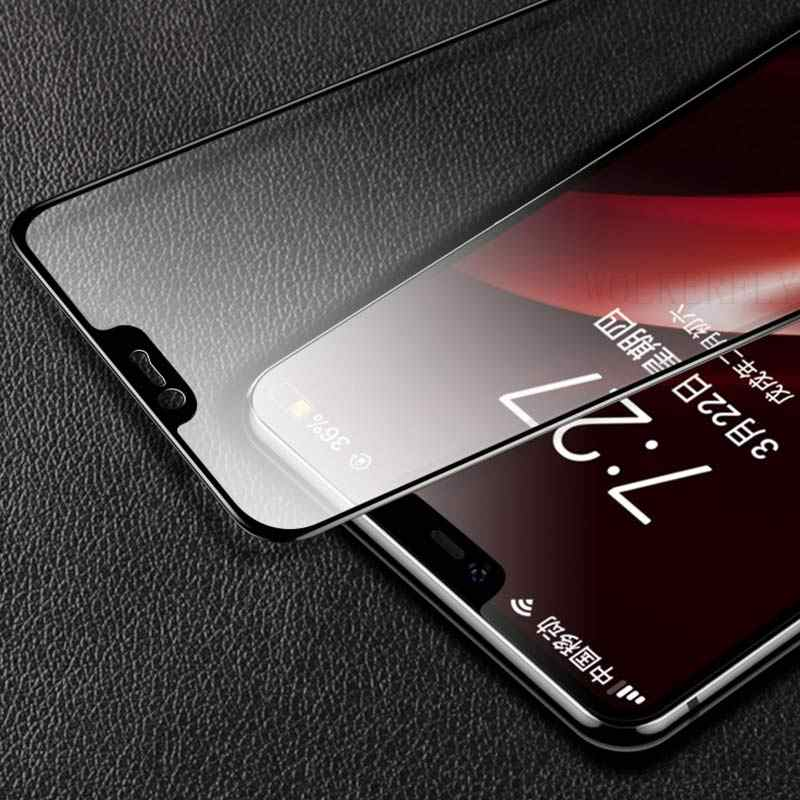 9d protectora de cristal para nokia 2 3 5 7 8,1, 2,1, 3,1, 5,1x7 2018 protector de pantalla completa de la cubierta de vidrio lámina protectora de tremp noki