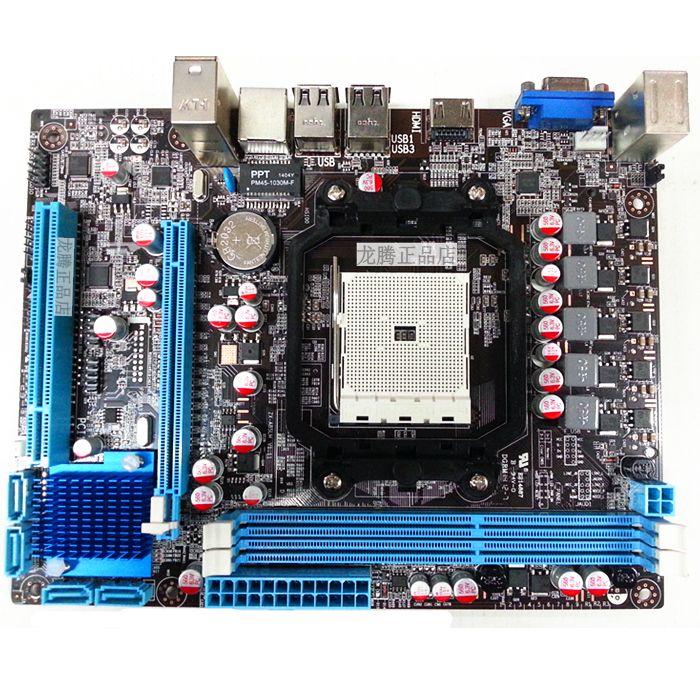 цена на New Desktop Motherboard A85/D3 FM2 DDR3 Integrated Sound Card Graphics Card HDMI