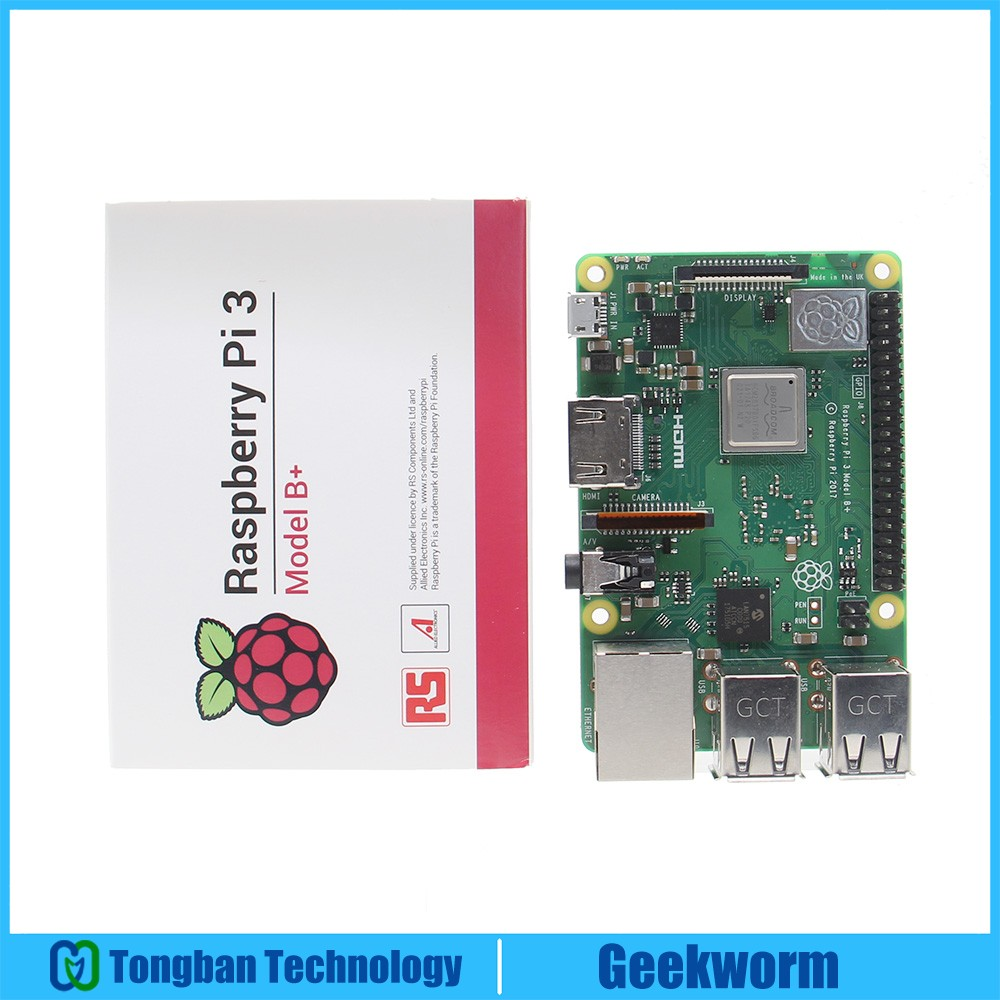 Raspberry Pi 3 Model B Plus 2 4G 5G WIFI Dual Band Motherboard Cortex A53 1