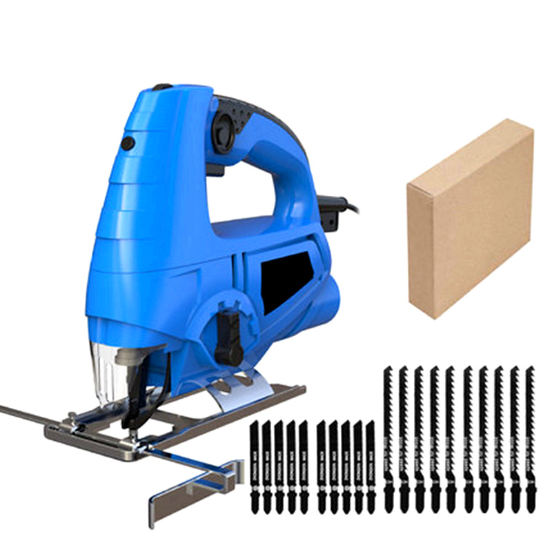 laser guide electric curve saw DIY electric woodworking jig saw multifunction dust free sawing machine with saw blades carton 1pc 5804 li 12 mini electric curve sawing wood working reciprocating saw with led