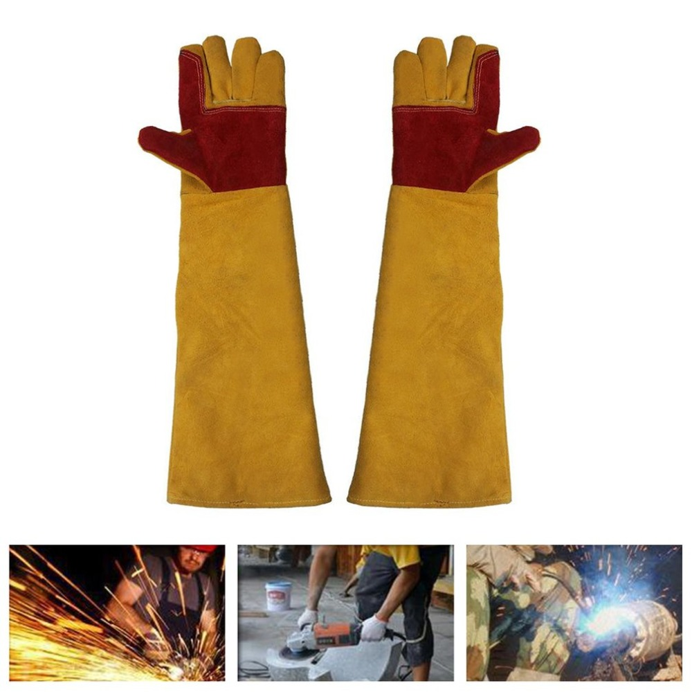 1 Pair Gardening Gloves Safety Protective Labor Working Gloves Electric Drill Shockproof Wear Resistant Industrial Gloves high quality cut proof labor gloves breathable protective gloves 1 pair wear resistant anti slip nitrile coating knitted gloves
