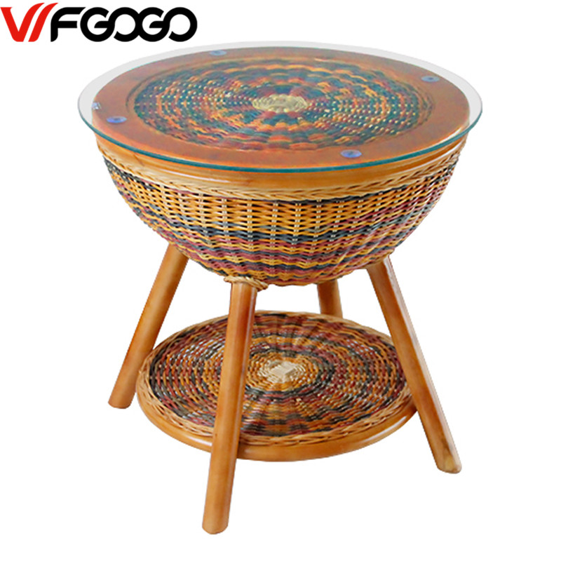 wfgogo furniture rattancolor garden outdoor tables restaurant stack coffee tables weather outdoor patio