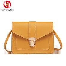 цена на Fashion Luxury Women Leather Purses Crossbody Ladies Hand Bags For Designer Small Flap Shoulder Woman Messenger Bag Purse