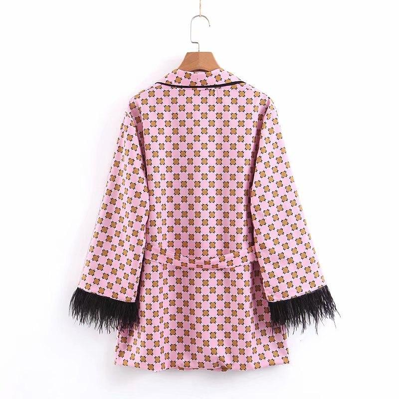 HTB1oLprTQvoK1RjSZFwq6AiCFXaL Women jacket for women fashion suit jacket with fringed print