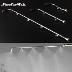 High Pressure Stainless Steel Spray Nozzle Garden Atomizing Sprinkler Agricultural Sprayer for Garden Watering Water Mist