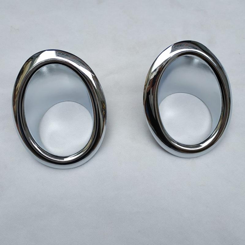 Pour NISSAN X-TRAIL X TRAIL XTRAIL T31 2008 2009 2010 2011 2012 2013 Chrome avant antibrouillard couvercle de lampe garniture Foglight accessoires