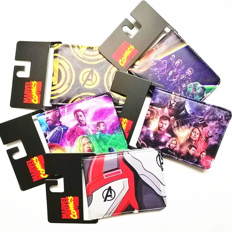 Herrenbekleidung & Zubehör Temperamentvoll Cartoon Brieftasche Avengers Serie Kreditkarte Kurze Brieftasche Auswahlmaterialien