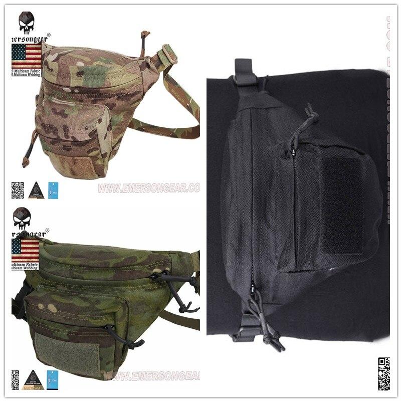 Emersongear multi-fonction RECON taille sac Molle poche armée tactique poches Multicam pochette EM9176 noir FG CB AT/FG kaki AOR1