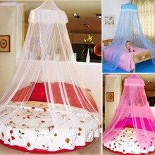 Современный дом москитная сетка кровать односпальная двуспальная King Midge насекомых муха навес Netting14