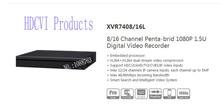 DAHUA NEW Product 8/16 Channel Penta-brid 1080P 1.5U Digital Video Recorder Without Logo XVR7408L/XVR7416L