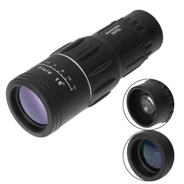 astronomical telescopes 16X52 Dual Focus Monocular Telescope 16x Zoom Binoculars 66M/8000M HD Scope