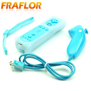 Image 3 - GCP Multi Color 2 in 1 Wireless Game Remote Controller with Motion Plus Nunchuck for Nintendo for Wii Controller Joystick