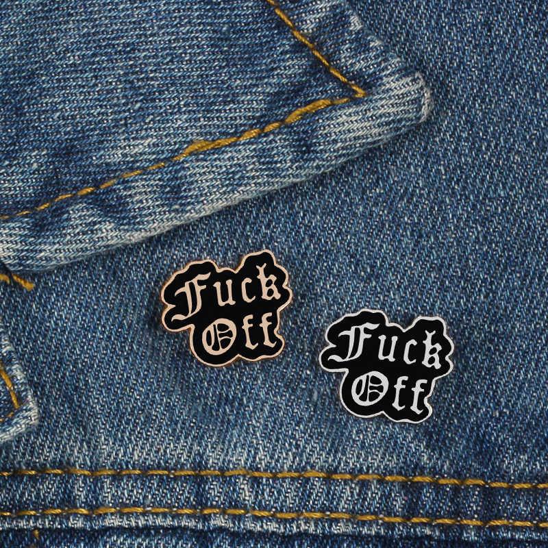 Темно-значок Savage подруга значок с надписью и броши для Для женщин Для мужчин жесткие металлические кнопки куртки сумку аксессуары вдохновляющая Цитата знак