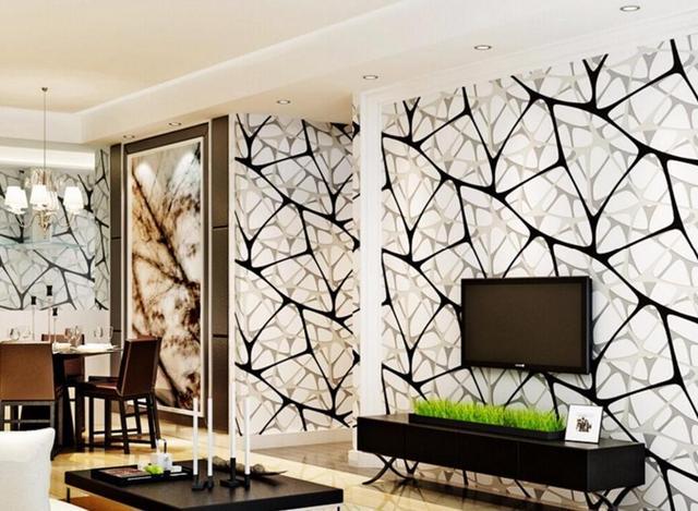 Beibehang Modern Simple Living Room Wallpaper Abstract 3d Thick Tv Backdrop Wall 3d Wallpaper Papier Peint Mural 3d Wallpaper 3d Wallpaper Living Room Wallpaperwallpaper Abstract Aliexpress