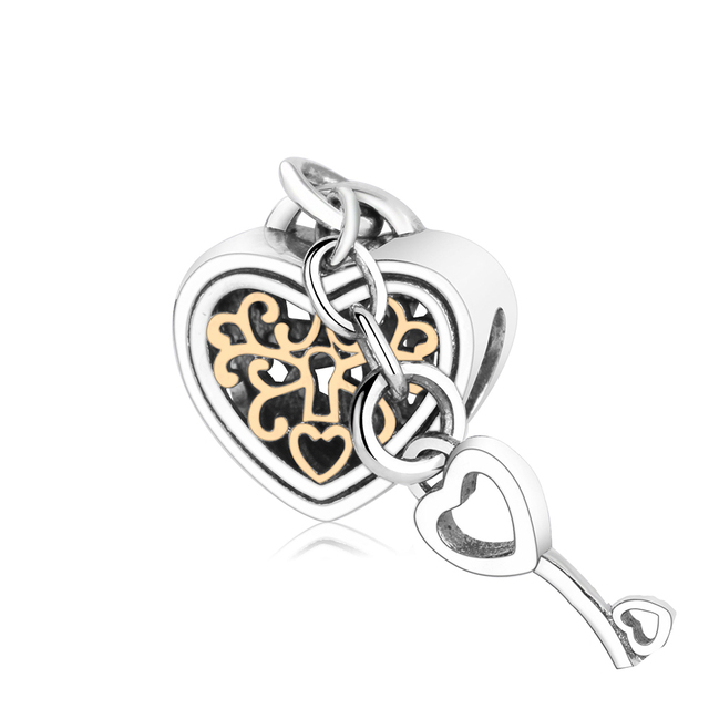 pandora key charm