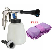 High Pressure Air Car Washer Cleaning Tools Pistoal Water Nozzle Sprayer+Microfiber Chenille Sponge Foam DXY88