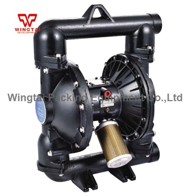 2 Inch PTFE Double Way Air Diaphragm Pump Pneumatic Flexo Ink Water Pump BML-50D aro ingersoll rand pneumatic diaphragm pump 1 1 2 metal pump housing 666170 3eb c