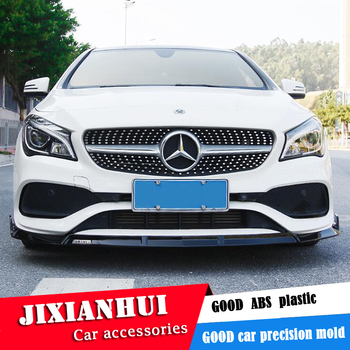 For Mercedes-Benz W117 CLA front Bumper Diffuser Bumpers Protector For Benz CLA180 200 Body kit bumper Before Rear lipspoiler