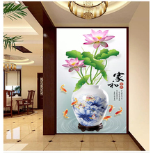 Custom creative three-dimensional painting wallpaper rich blooming colorful fashion floral background wall papel de parede