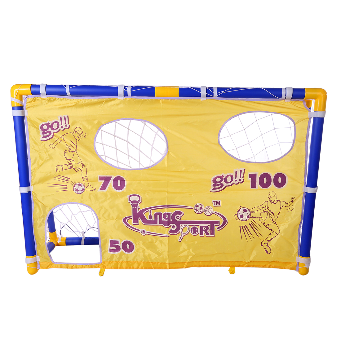 Portatile Pieghevole Goal di Calcio Per Bambini Set Porta di Calcio Cancello Calcio per Bambini Formazione Netto