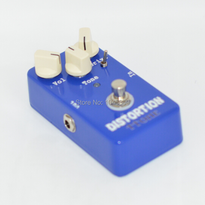 NEW electric Guitar Effect Distortion pedal , deep blue Pedal  Guitarra  Distortion Effect Pedal True Bypass nux metal core distortion stomp boxes electric guitar bass dsp effect pedal 2 metal hardcore sound true bypass