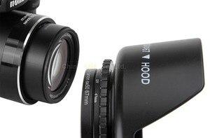 Image 5 - Camera Lens Adapter Ring Voor Canon Powershot SX50 SX60 SX70 SX520 Hs Opnieuw Installeren 67 Mm Uv Filter Zonnekap Lens cap Accessoire