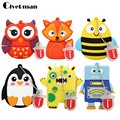 New Arrival USB Flash Drive 128GB Pen Drive 4GB 8GB 16GB 32GB 64GB USB-flash Pendrive Mini Lovely Owl/Robot Memory Stick U Disk
