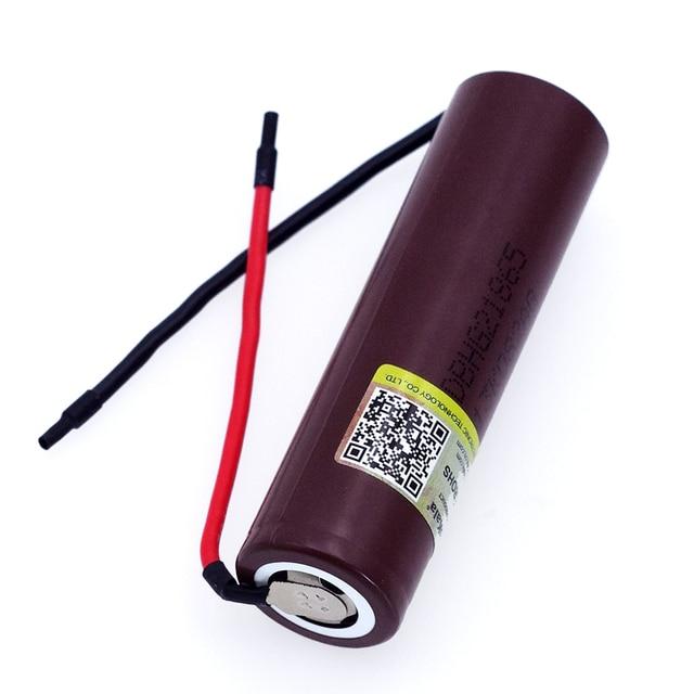 1-8 шт. Liitokala для HG2 18650 3000 мАч электронная сигарета перезаряжаемый аккумулятор Высокая-разряда, 30A высокий ток + DIY Linie