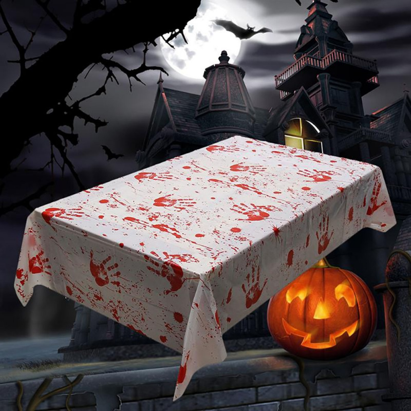 Halloween Decoration Horror Hand Print Blood Print
