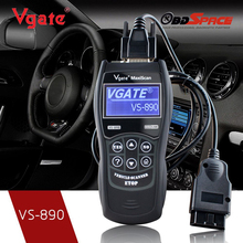2016 OBD2 Automotive Scanner Maxiscan Vgate VS890 Fault Code Reader EOBD JOBD CAN BUS Multi language