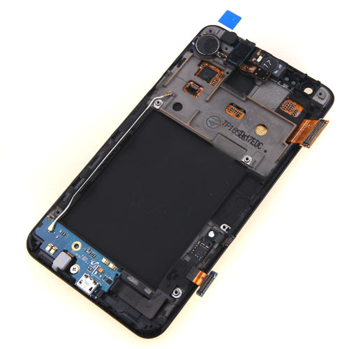 ФОТО Free shipping LCD Display Touch Screen Digitizer Assembly With Frame For Samsung Galaxy S2 II i9100