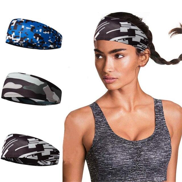 Men/Women Headband Multi-function Anti-sweat Belt Sports Sweat Head Band Hair Band Sweatband Tennis Basketball Yoga Headband