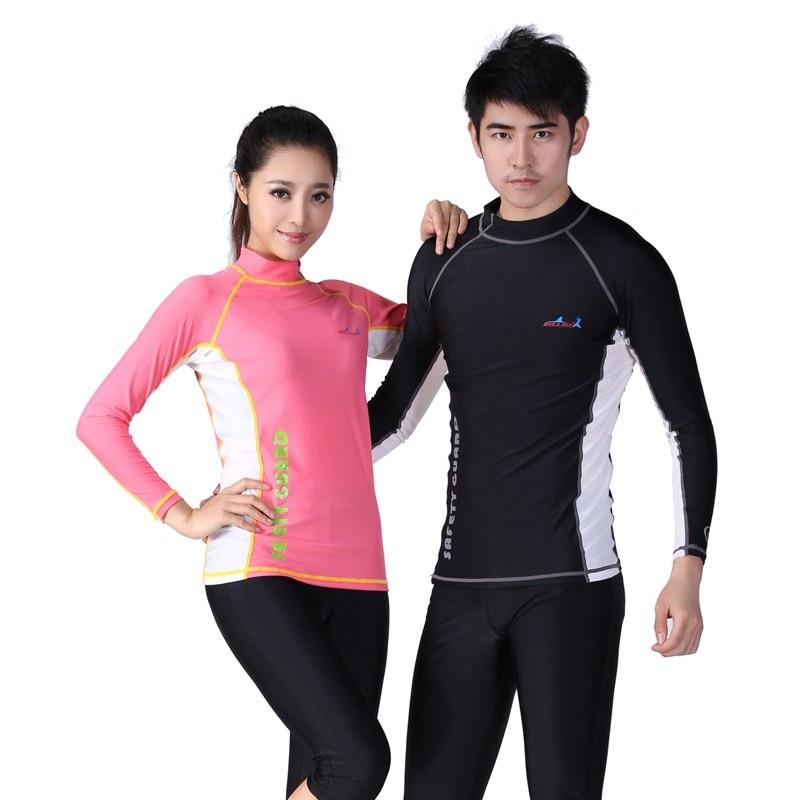 9f37b56239 DIVE SALE LS-605 Mens Womens UV Protect Long Sleeve Diving Jetski Swim Suit Rash  Vest Rashguard Top