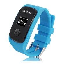 Nueva ZGPAX S22 Niños Posicionamiento Apoyo Reloj Inteligente SOS GPS/LBS/PC/SMS Seguimiento en tiempo Real Smartwatch de protección para los niños
