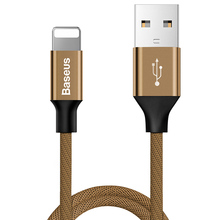 Baseus USB cable for iPhone 6 6s plus 7 8 X 2A Fast Data Sync charging lightning fast charger
