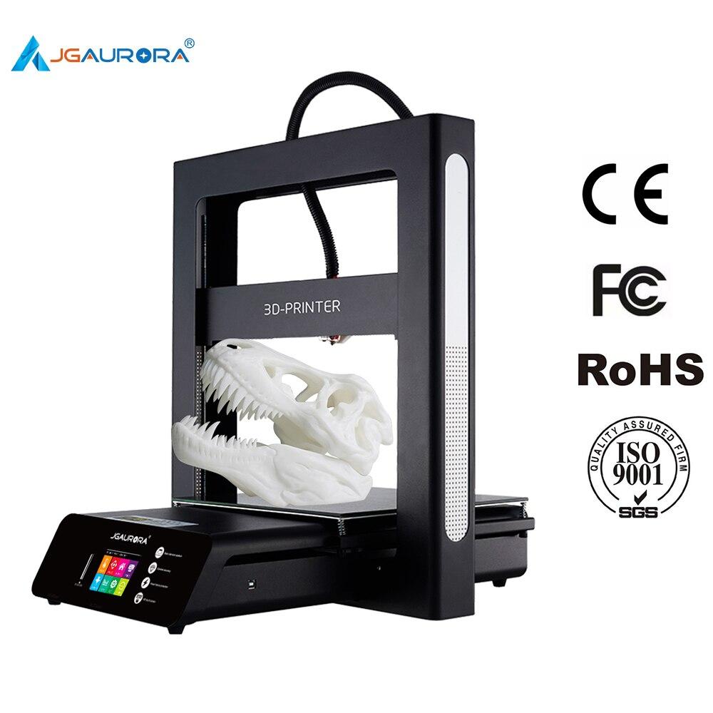 JGAURORA 3D-принтеры A5 обновлен 3d печатная машина очень высокая точность принтер машина с большой встроенный Размеры 305*305*320 мм