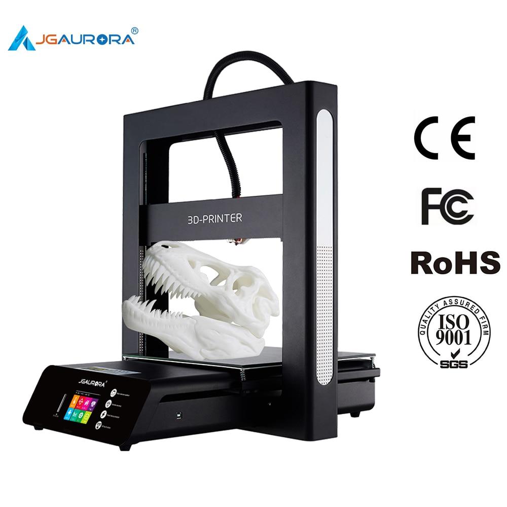 JGAURORA 3D impresora A5 actualizado A5S 3D máquina de impresión extrema de alta precisión de la máquina de la impresora de gran tamaño de 305 * 305*320mm