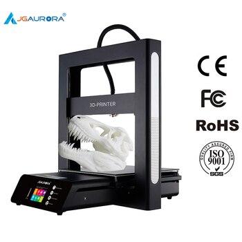 Máquina de Impressão de Impressora A5 Atualizado A5S 3D JGAURORA 3D Extrema Alta Precisão Máquina Impressora de Grande Área De Construção de 305*305*320 milímetros