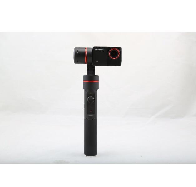 F18166 Feiyu Summon+ Plus Summon upgraded Handheld Gimbal Brushless Camera Stabilized with 4K 1080P Camera 2.0 Inch HD Display yuneec q500 typhoon quadcopter handheld cgo steadygrip gimbal black