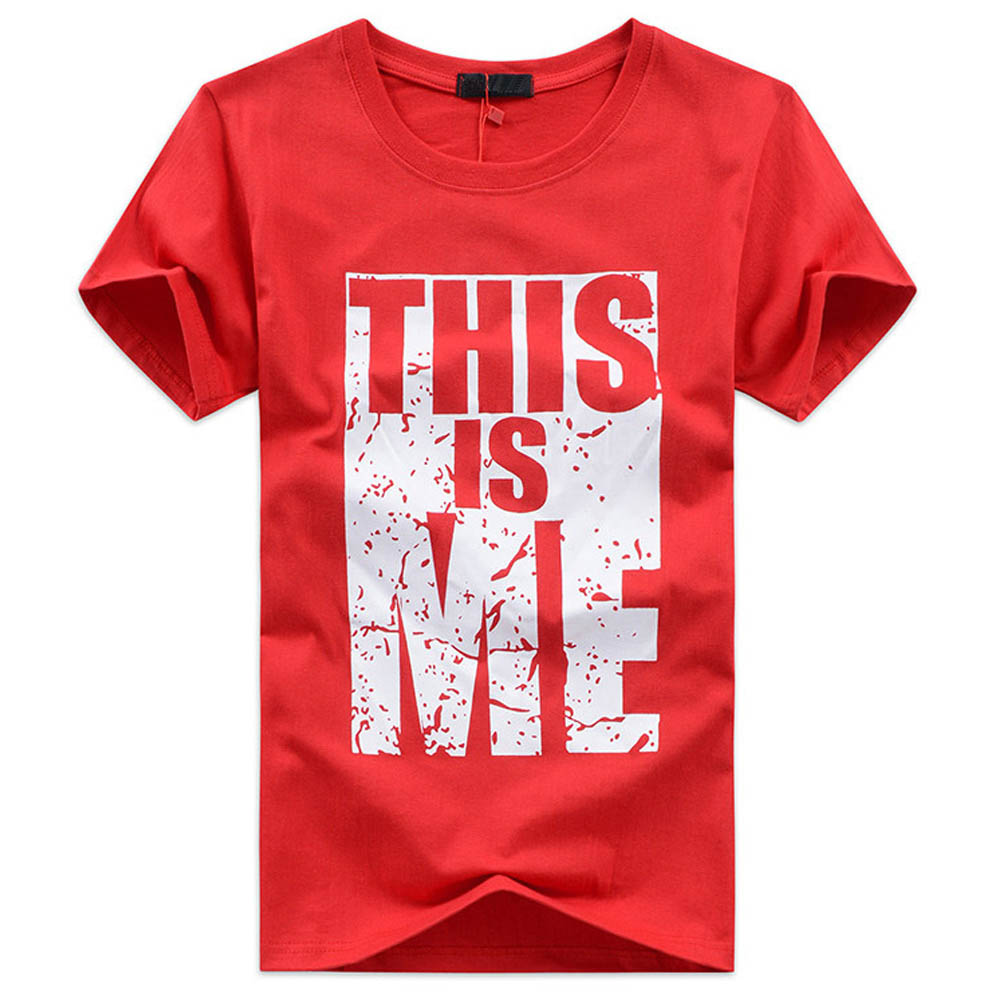 Camiseta Hombre o-cuello camiseta 3 Color ropa Streetwear Mens desgaste tamaño S-5XL moda 2018 camisetas para hombre verano ASALI marca DX-THIS