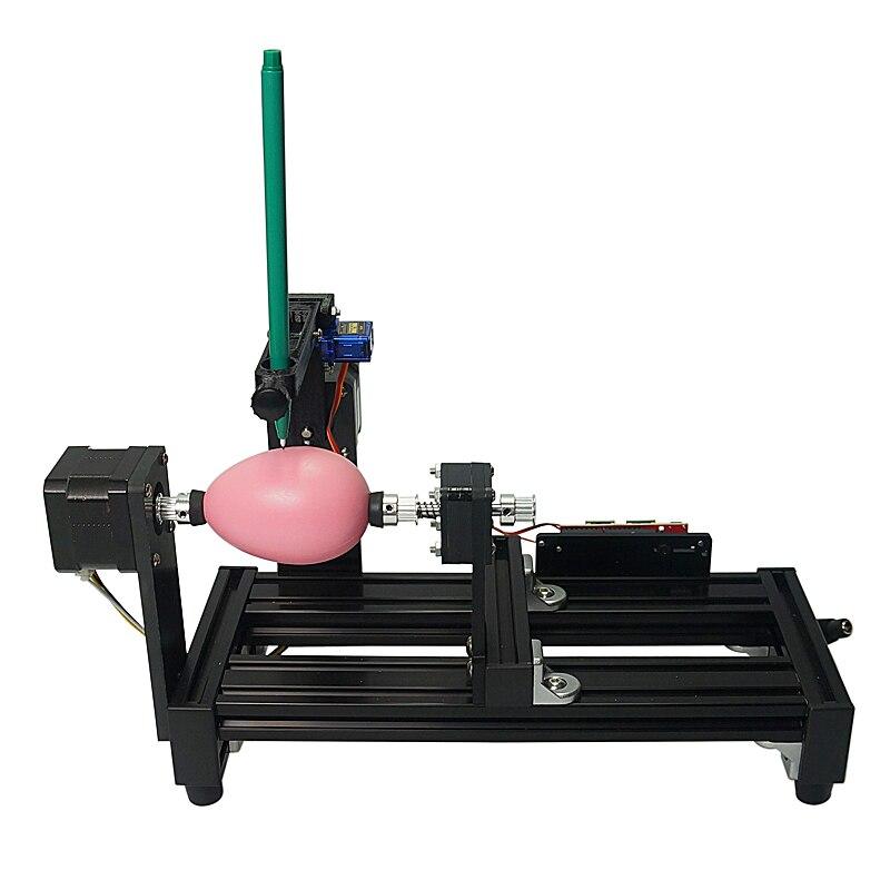 220V 110V große größe LY Ei-zeichnung roboter zeichnung auf ei und ball für bildung kinder ei ziehen maschine