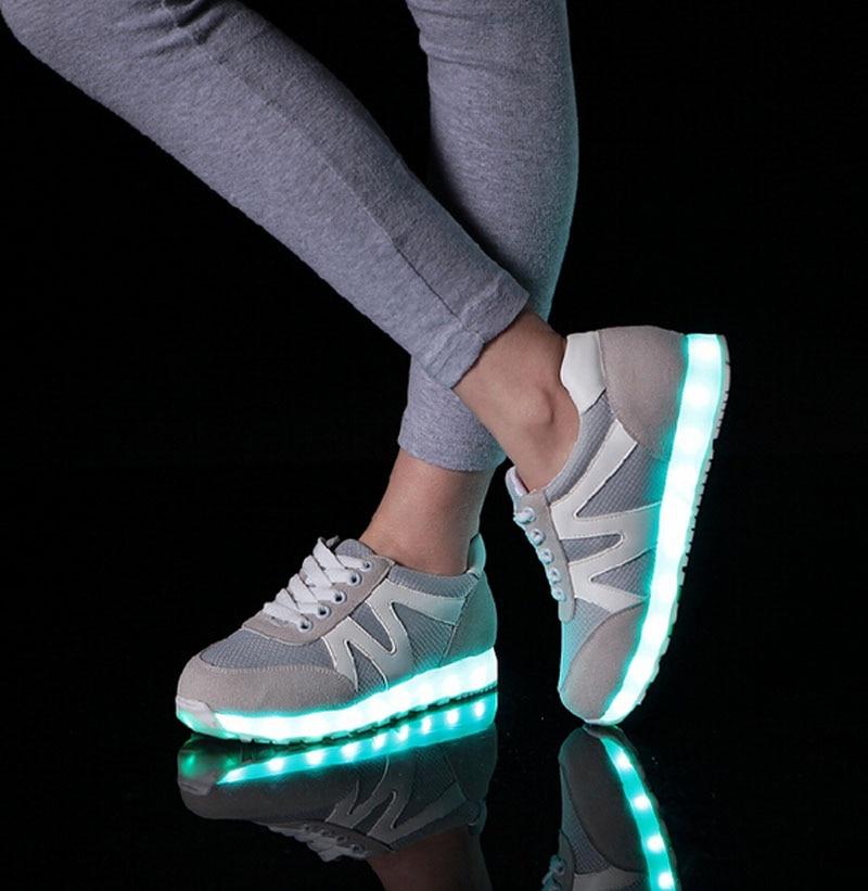 Led Shoes Men Nice Fashion Causal Led Luminous Shoes Lovers Fashion Basket Led Light Up Shoes For Adults Men Shoes 7c11 Men's Casual Shoes