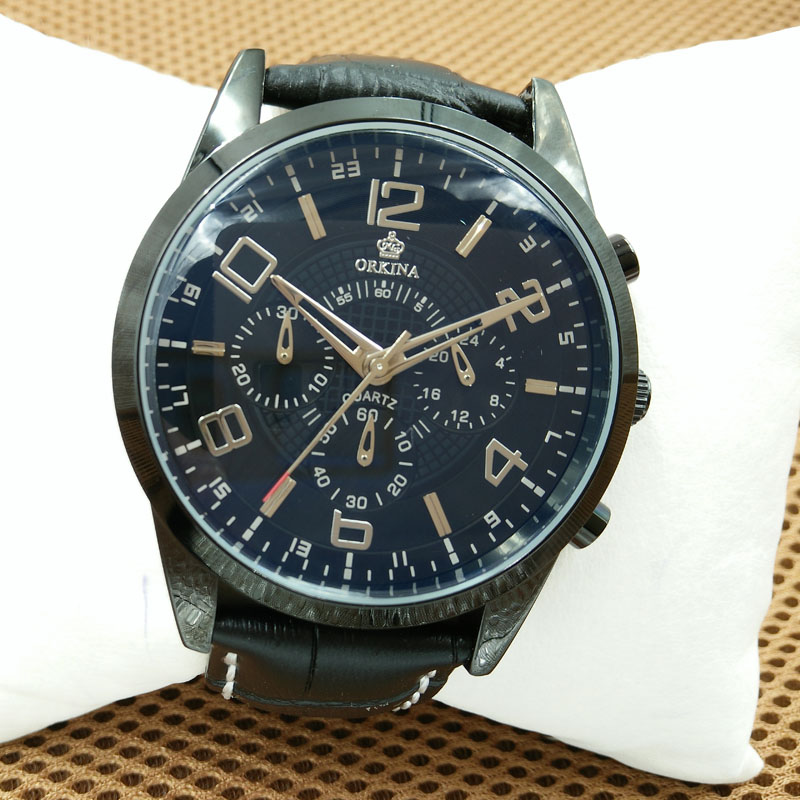 2016 mens watches top brand luxury orkina s quartz