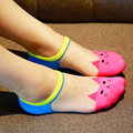 Women Sock Creative Cute Cat Ship Invisible Socks Ms Crystal Silk Socks Slippers