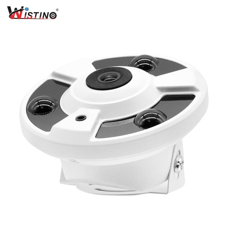 Wistino FishEye caméra panoramique 1080 P caméra IP extérieure 2MP caméra à objectif large CCTV sécurité moniteur vidéo caméra de Surveillance en
